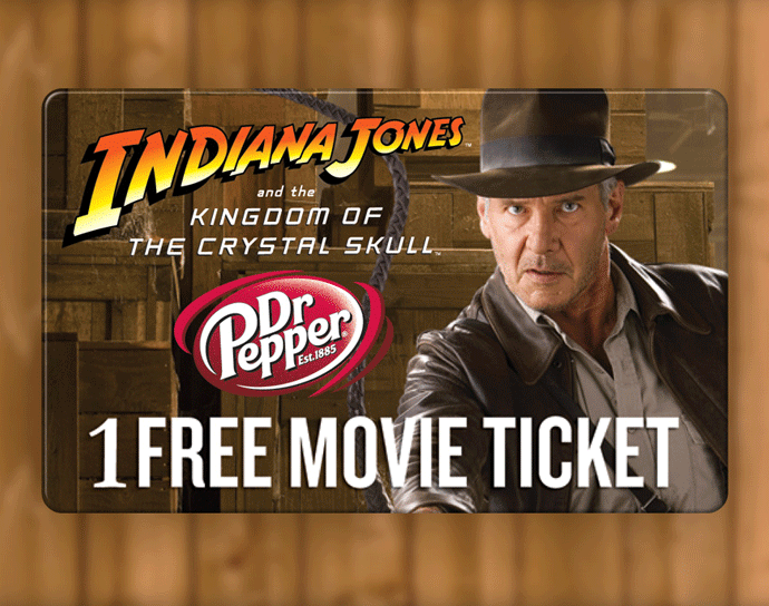 Dr Pepper & Indiana Jones